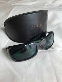 Y2K Vintage GUCCI Sunglasses with Case