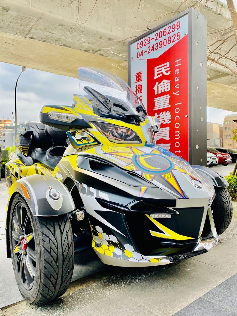 車友託售:2020年掛牌CAN AM Spyder RT LTD ABS DOHC 1330cc 水冷三缸(總代理一手車)