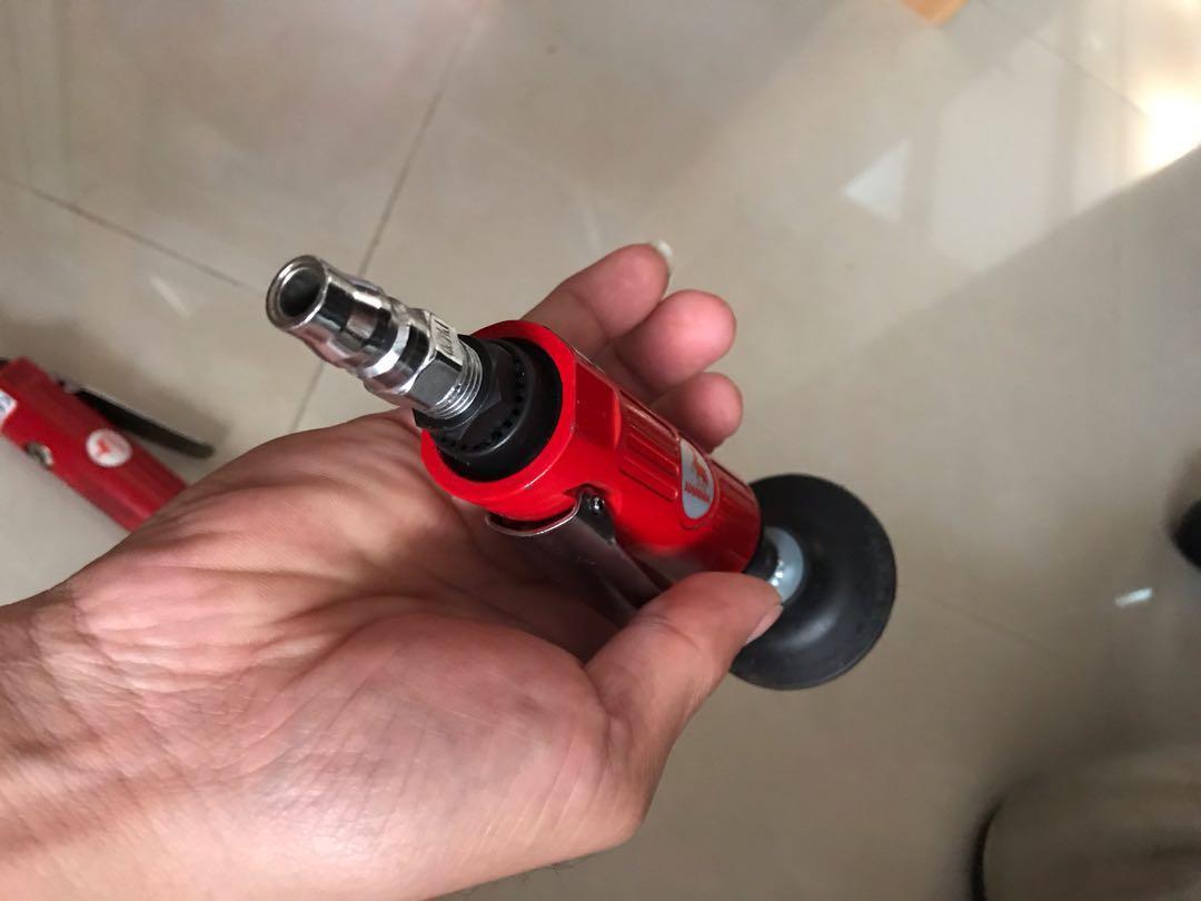 手持式氣動研磨機