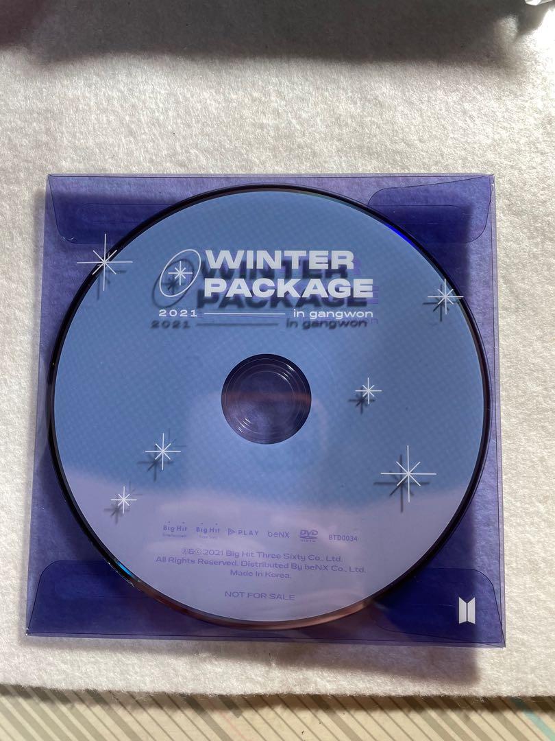 防彈少年團 2021 冬寫 DVD
