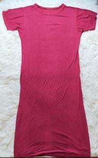 ❤️ T-Shirt Dress Pink
