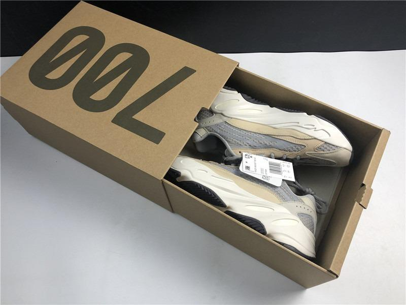 Adidas Yeezy Boost 700 V2 Shoes Cream Cream ∕ Cream-Cream GY7924 Men and Women size EU36-48 US6-13