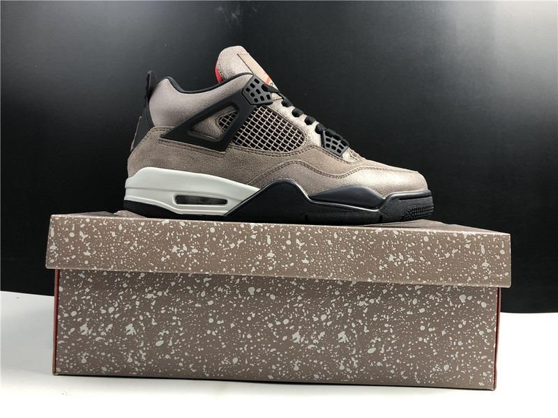 Air Jordan 4 Retro Taupe Haze Shoes DB0732-200 Men Size EU40-47.5 Women Size EU36-39