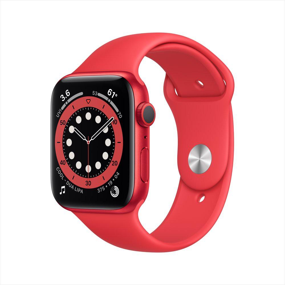 Apple Watch Series 6 GPS, 44mm PRODUCT(RED) Aluminum Case with PRODUCT(RED) Sport Band - Regular