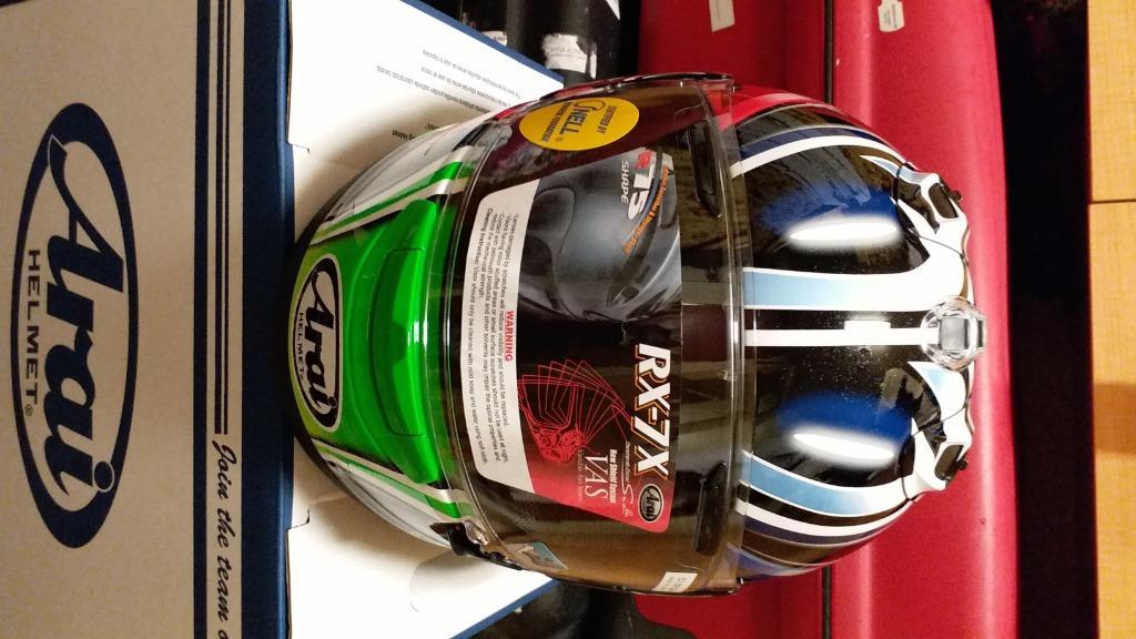 Arai Helmet Rx7x Nakano Shuriken Green size M