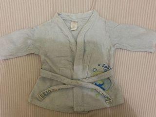 Baju handuk bayi unisex