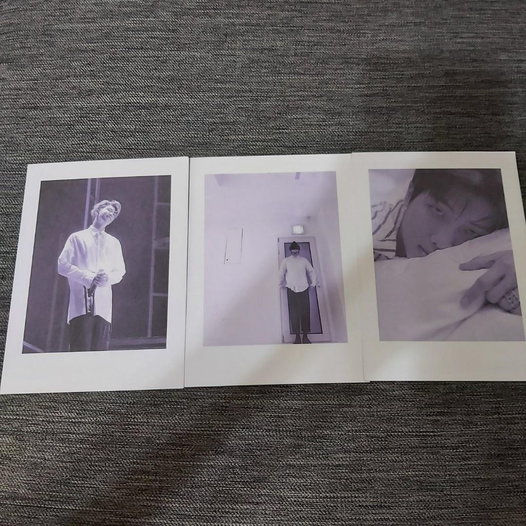 BTS 雙面明信片 三張一組