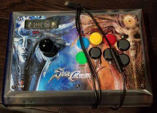 Fight stick Arcade stick Madcatz Soul Calibur V Soul Edition (PC & X360)