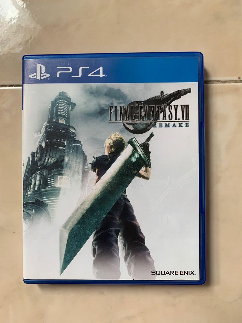 Game PS4  Final Fantasy VII Remake