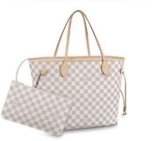 Gorgeous LV LARGE size Tote Bag with Mini Clutch