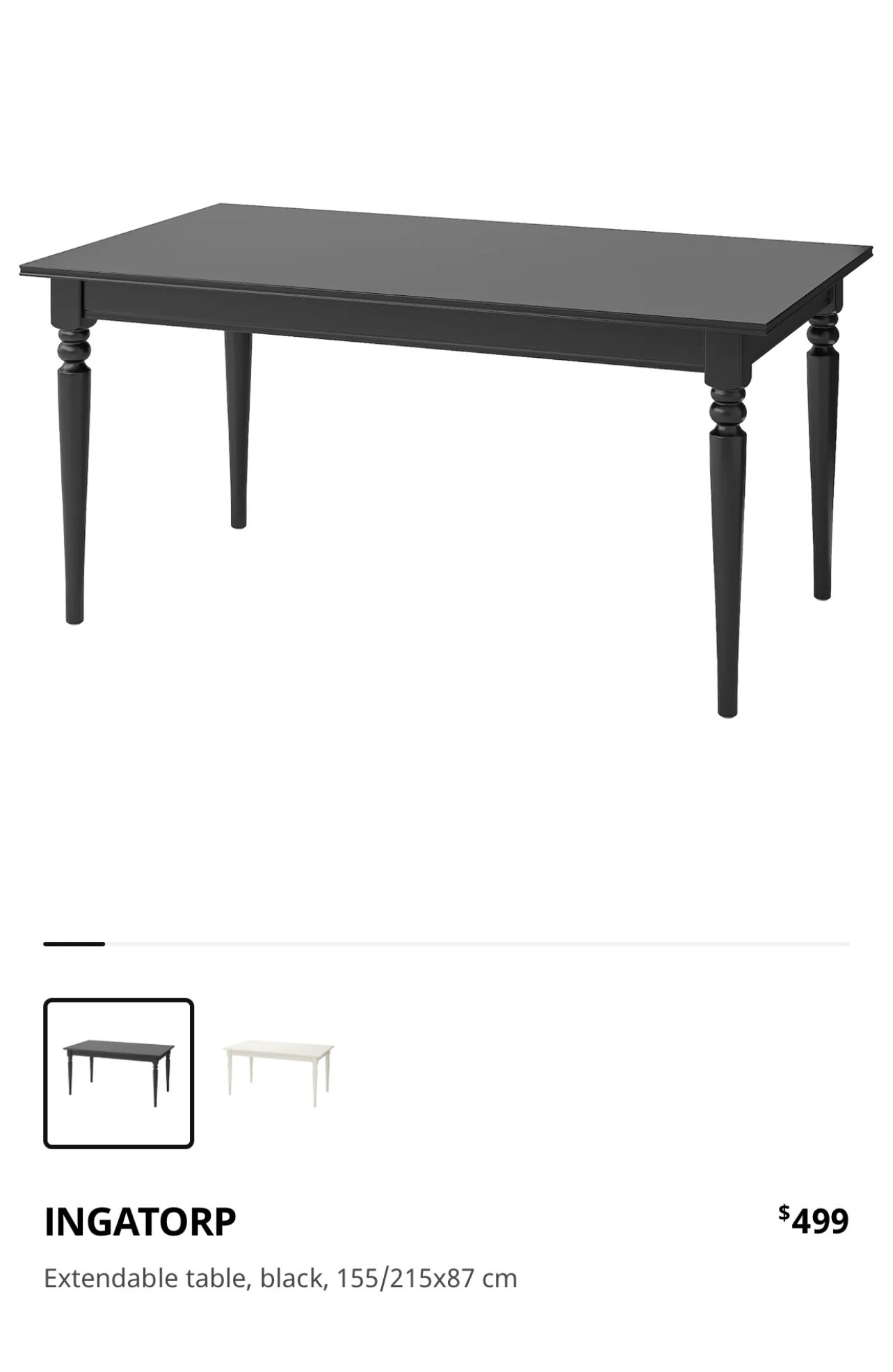 Ikea Wooden Table Extendable