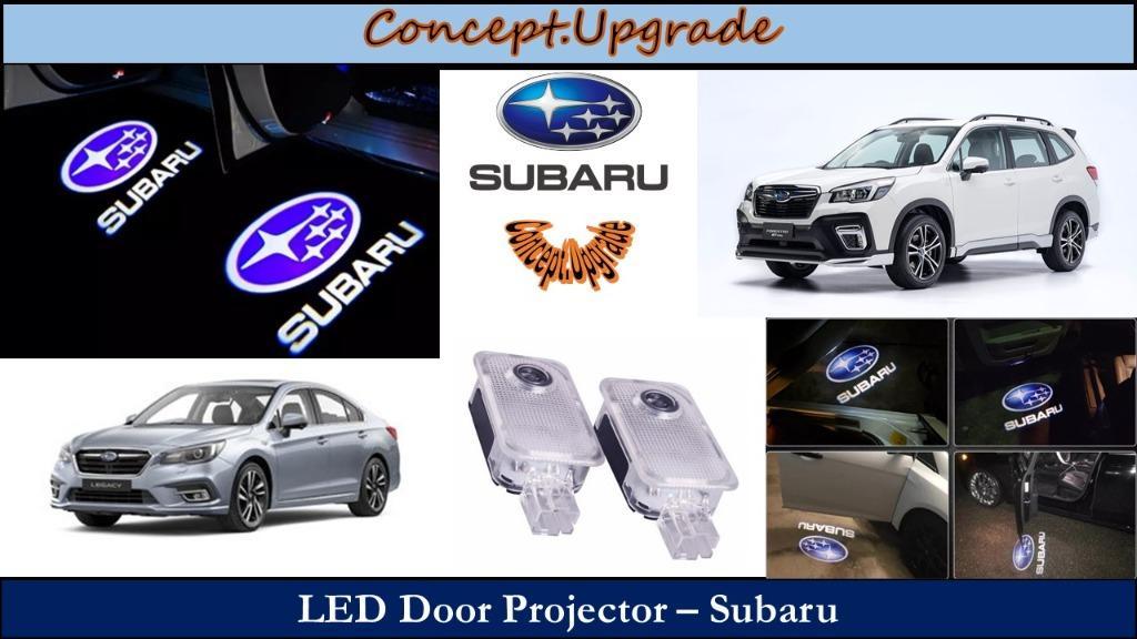 LED DOOR PROJECTOR WELCOME LIGHTS FOR SUBARU MODELS