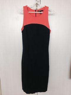 Mango Suit 2 Tone Dress