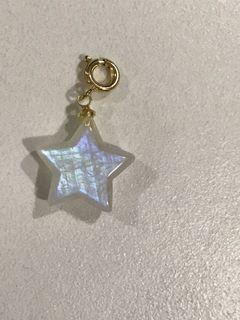 Moonstone Star dangle