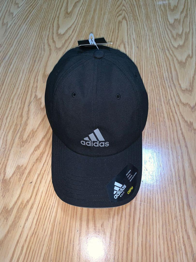 New 全新 adidas 老帽 黑色