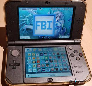 New Nintendo 3DS XL Hyrule Gold Edition (Modded with 256GB)