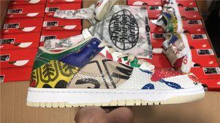 Nike Dunk Low SP Shoes Thank You For Caring DA6125-900 Men size US7-13 EU40-47.5