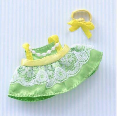 Sylvanian Families Girl Dress Green