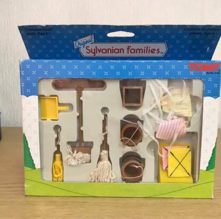 Sylvanian Families Spring Cleaning Set