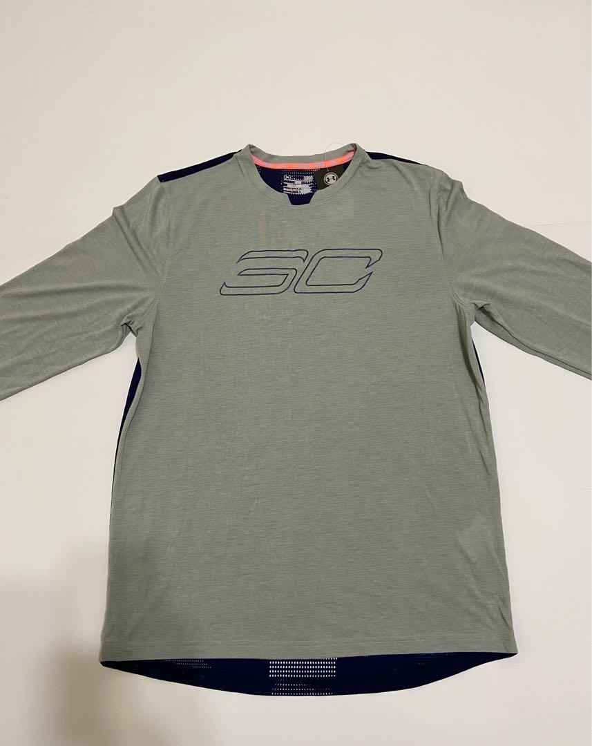 UA男士SC30 Hyper30nic Shootn T恤 L碼
