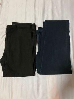 Uniqlo Ultra Stretch Skinny Jeans Navy/Black