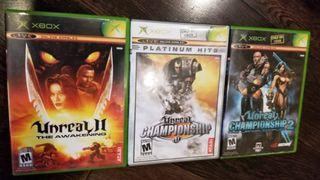 Unreal / Unreal Championship (Original Xbox Video Games)