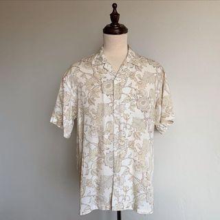 Vintage Floral Hawaiian Shirt