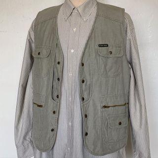 Vintage Green Hunter Vest