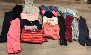 12-18 month baby girls clothing lot