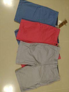 3 pcs. Short pants ( unisex )
