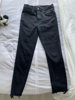 Aritzia black denim forum jeans