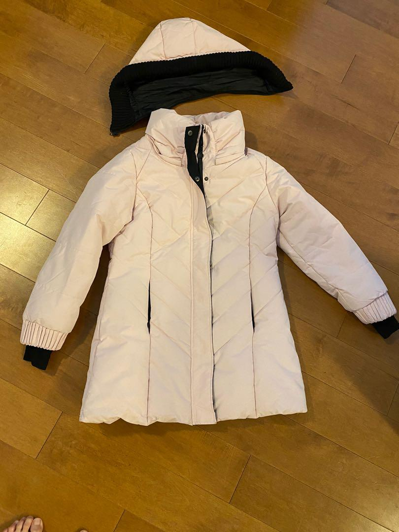 Baby Pink Down Jacket size L
