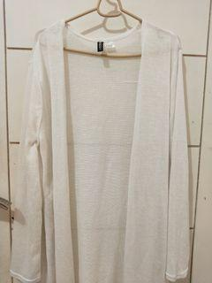 cardigan h&m white