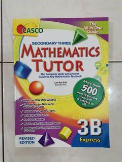 CASCO Mathematics (Secondary 3B) Workbook