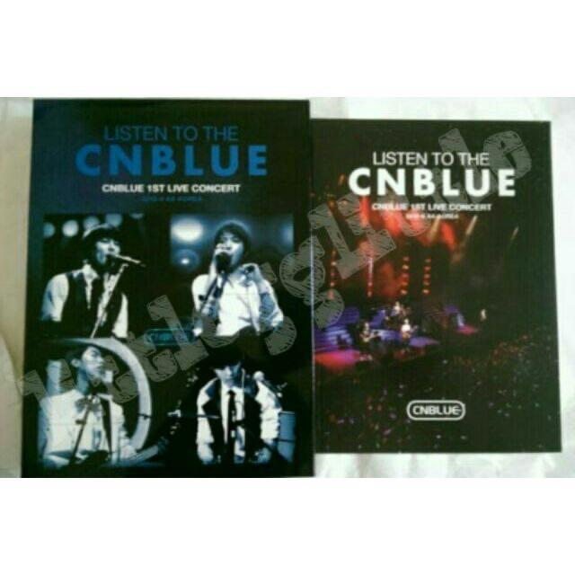 CNBLUE 1ST LIVE CONCERT 『 LISTEN TO THE CNBLUE 』韓國版DVD