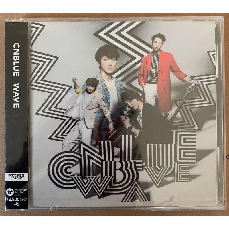 CNBLUE 日本第三張正規專輯 3rd Full album 『 WAVE 』 BOICE 限定盤 CD + DVD