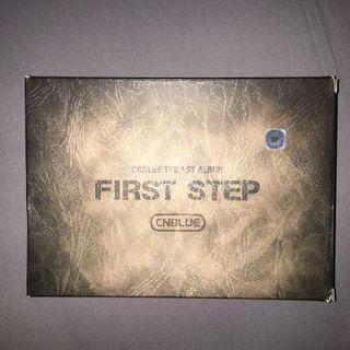 CNBLUE First Step 1st album