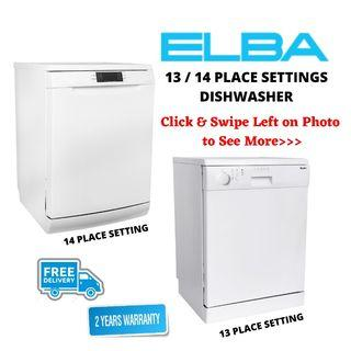 Discount Price!!! Elba Dishwasher 13 / 14 Place Setting (Made in Europe)