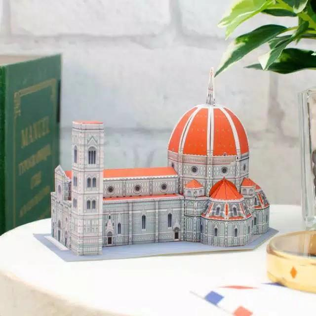 DIY PAPERCRAFT FLORENCE CATHEDRAL ITALY  MINI