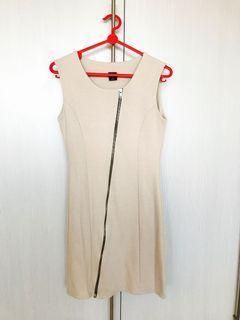 Korea Beige Dress