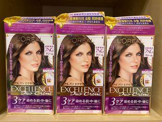 loreal 染髮劑 hair dyes