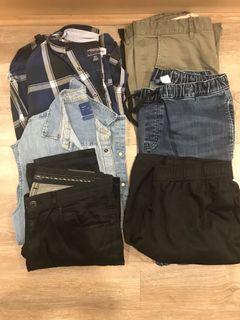 Men's clothing lot