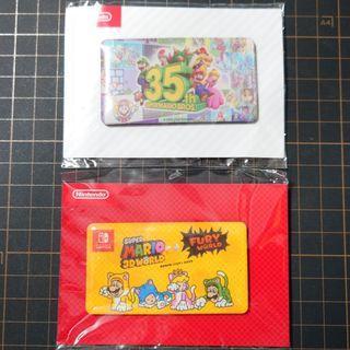 Nintendo Switch: Super Mario Bro.磁石(共2張)