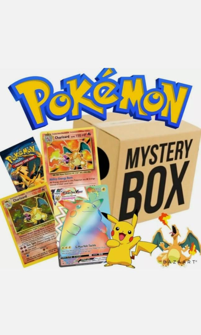 Pokemon mystery box