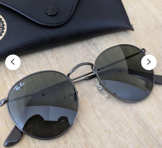 Rayban black sunglasses authentic