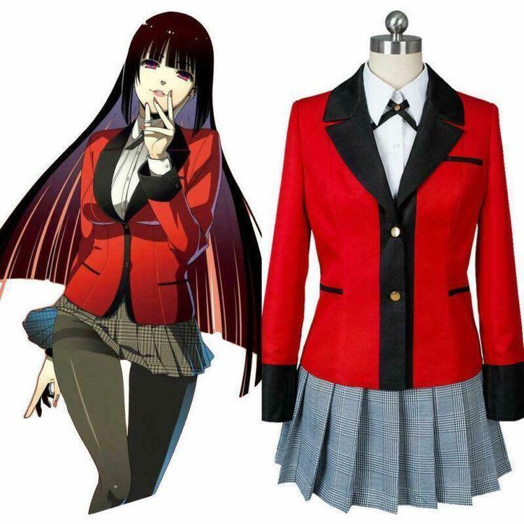 Yumeko Jabami Kakegurui cosplay costume