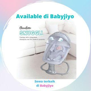 SEWA bouncer baby swing Snuggli dan Ingenuity