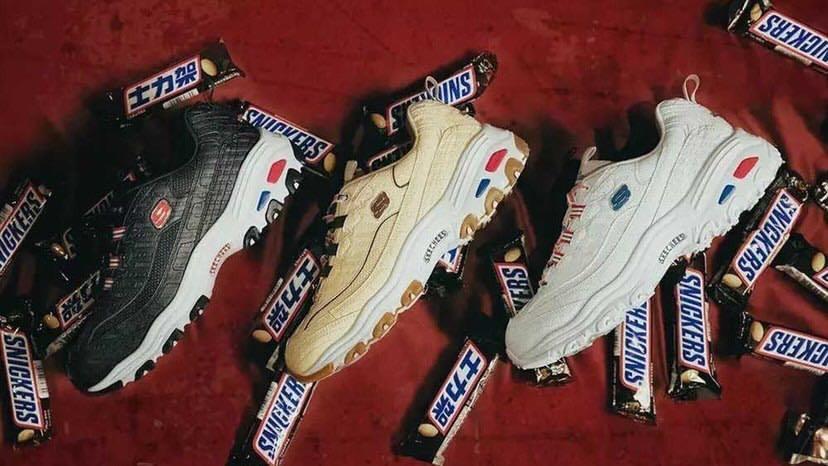 Sneaker x Skecher 聯名老爹鞋