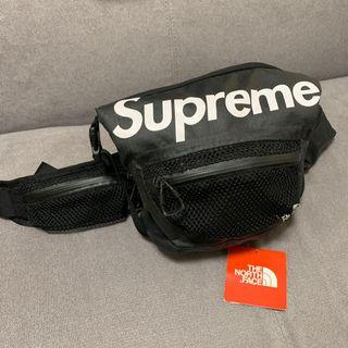 supreme X the north face waterproof waist bag
