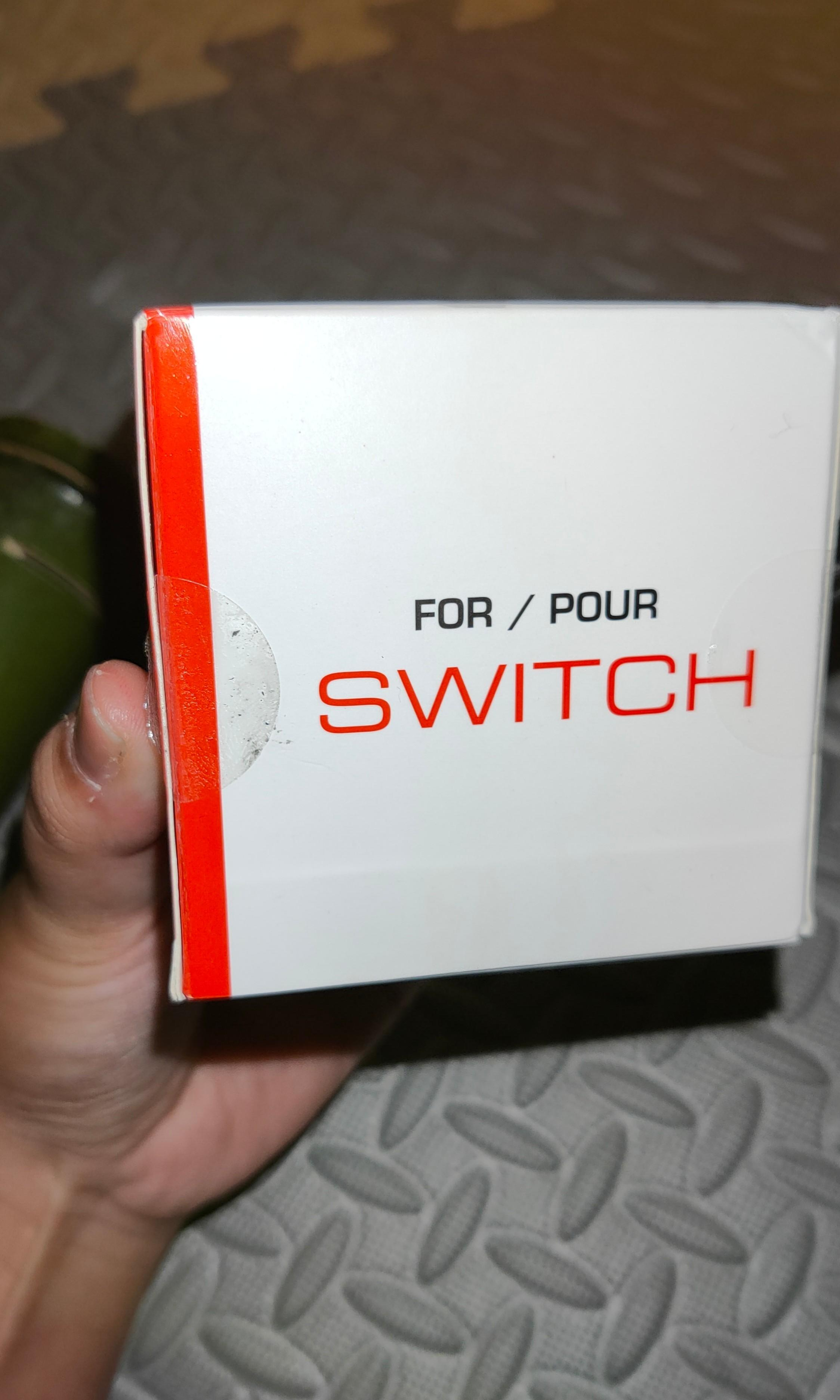 Switch 神奇寶貝球 for/pour NYKO